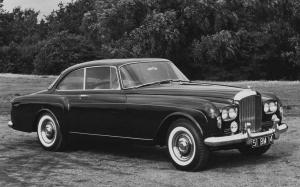 Bentley S3 Continental 2-Door Saloon by Mulliner Park Ward 1962 года