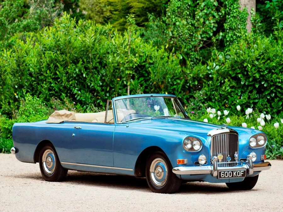Bentley S3 Continental Convertible by Mulliner Park Ward '1962