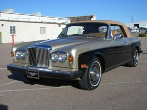 1980 Bentley Corniche Convertible