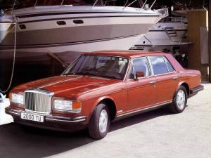 Bentley Mulsanne 1980 года