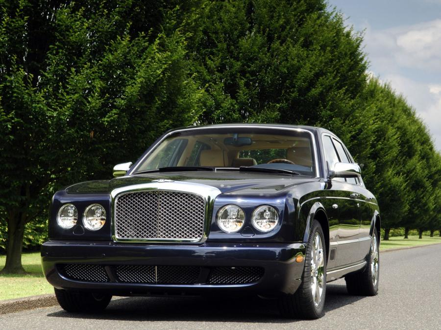 Bentley Arnage Blue Train