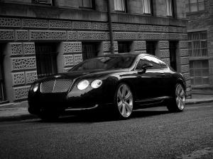 Bentley Continental GTS Black Edition by Project Kahn 2008 года