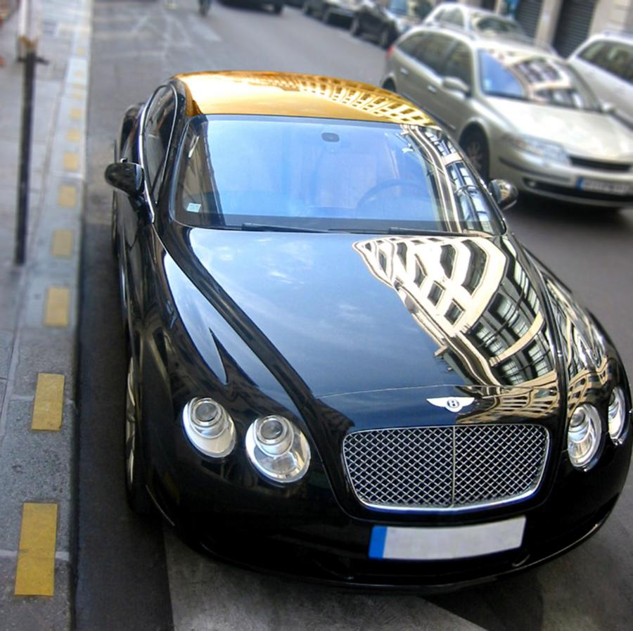 Bentley Continental with Golden Roof '2008