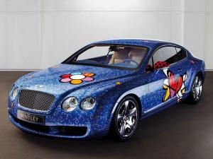 Bentley Continental GT by Romero Britto 2009 года