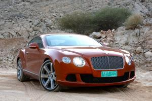 Bentley Continental GT 2010 года