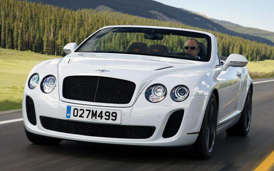 Bentley Continental SuperSports Convertible '2010
