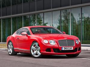 Bentley Continental GT 2011 года (UK)
