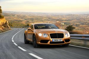 Bentley Continental GT V8 2011 года