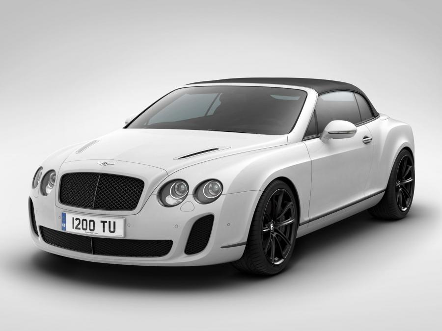 Bentley Continental SuperSports ISR Convertible '2011