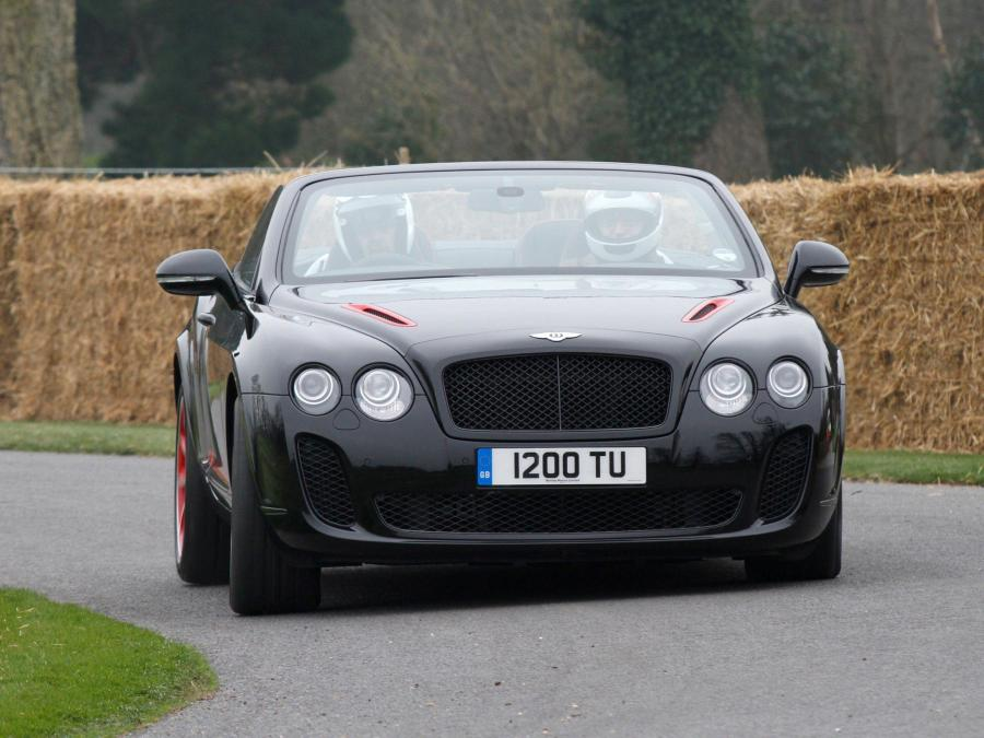 Bentley Continental SuperSports ISR Mulliner Package Convertible