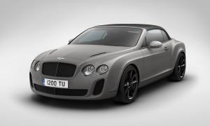 Bentley Continental SuperSports Ice Speed Record Convertible 2011 года