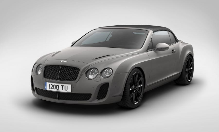 Bentley Continental SuperSports Ice Speed Record Convertible '2011