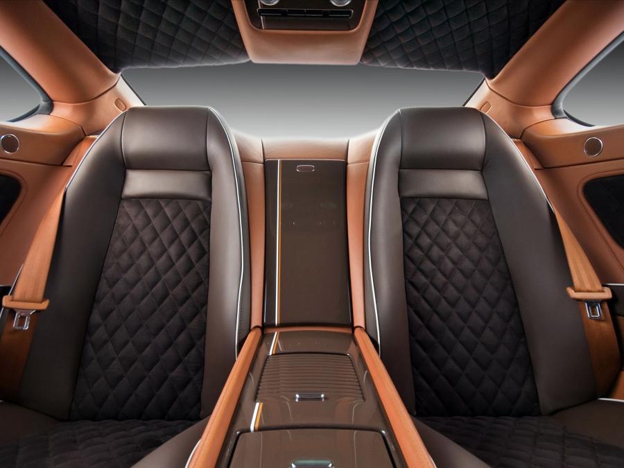 роскошной коричневый салон автомобиля фото фартука защищает