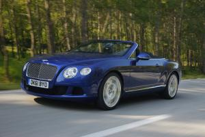 Bentley Continental GTC W12 2012 года