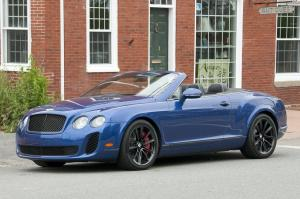 Bentley Continental SuperSports Convertible 2012 года