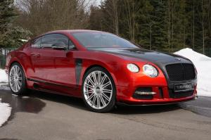Bentley Continental GT Sanguis by Mansory 2013 года