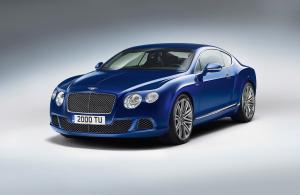 Bentley Continental GT Speed 2013 года