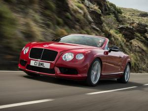 Bentley Continental GT V8 S Convertible 2013 года