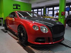 Bentley Continental GT by Print Tech 2013 года