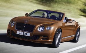 Bentley Continental GT Speed Convertible 2014 года