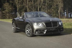 Bentley Continental GTC Edition 50 by Mansory 2014 года