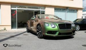 Bentley Continental GTC V8S by Elite Wrap 2014 года