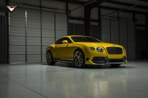 Bentley Continental GT BR10-RS by Vorsteiner 2015 года