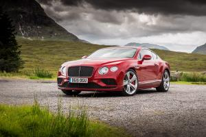 Bentley Continental GT Speed 2015 года