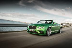 Bentley Continental GT Speed Convertible 2015 года