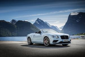 Bentley Continental GT V8 S Convertible 2015 года