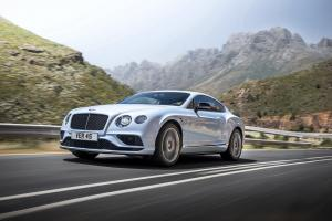 Bentley Continental GT V8 S 2015 года