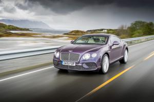 Bentley Continental GT 2015 года