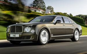 Bentley Mulsanne Speed 2015 года