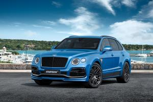 2016 Bentley Bentayga in Blue by Startech