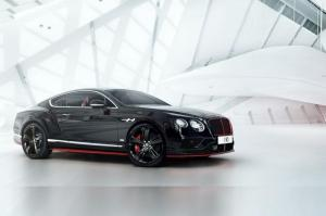 Bentley Continental GT Black Speed by Mulliner 2016 года