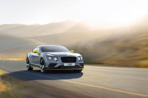 Bentley Continental GT Speed Black Edition 2016 года