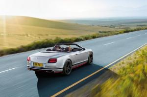 Bentley Continental GT Speed Convertible Black Edition 2016 года