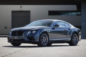 Bentley Continental GT V8 S 2016 года (AU)