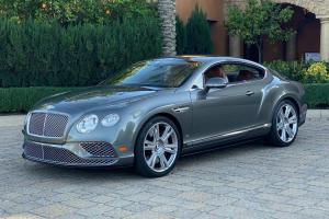 Bentley Continental GT V8 S 2016 года