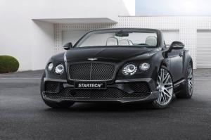Bentley Continental GT V8 S Convertible by Startech 2016 года