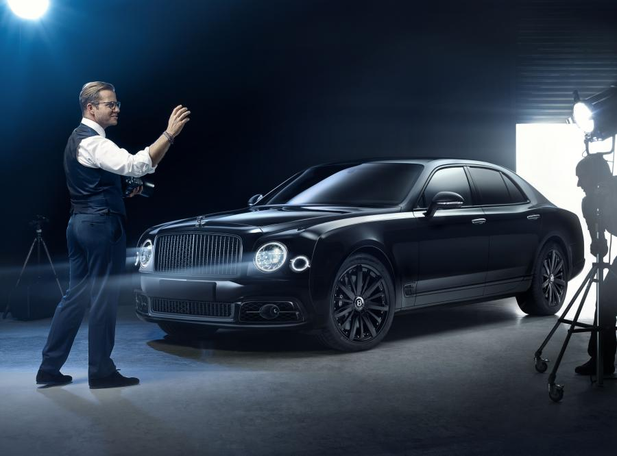 Bentley Mulliner Mulsanne Speed Collaborated with Bamford