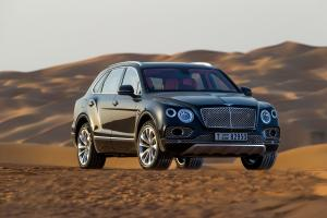 Bentley Bentayga Falconry by Mulliner 2017 года