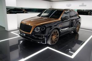 Bentley Bentayga Shadow Gold by Startech