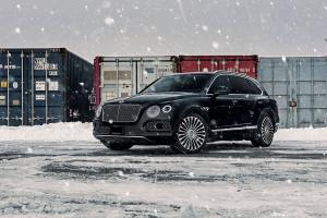 2017 Bentley Bentayga on Mansory Wheels by Driving Emotions Motorcar