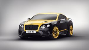 Bentley Continental GT Continental 24 Black & Yellow 2017 года