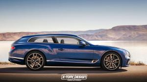 Bentley Continental GT ShootingBrake by X-Tomi Design 2017 года