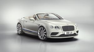 Bentley Continental GT V8 Convertible Galene Edition by Mulliner 2017 года
