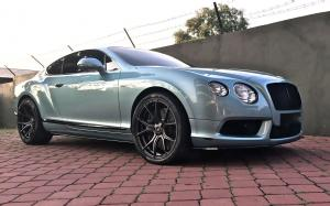 Bentley Continental GT V8 S by Autofuture Design on Vorsteiner Wheels (V-FF 103)