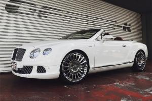 Bentley Continental GTC by Office-K on Forgiato Wheels (Calibro-ECL) 2017 года