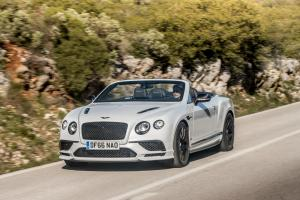 Bentley Continental Supersports Convertible 2017 года